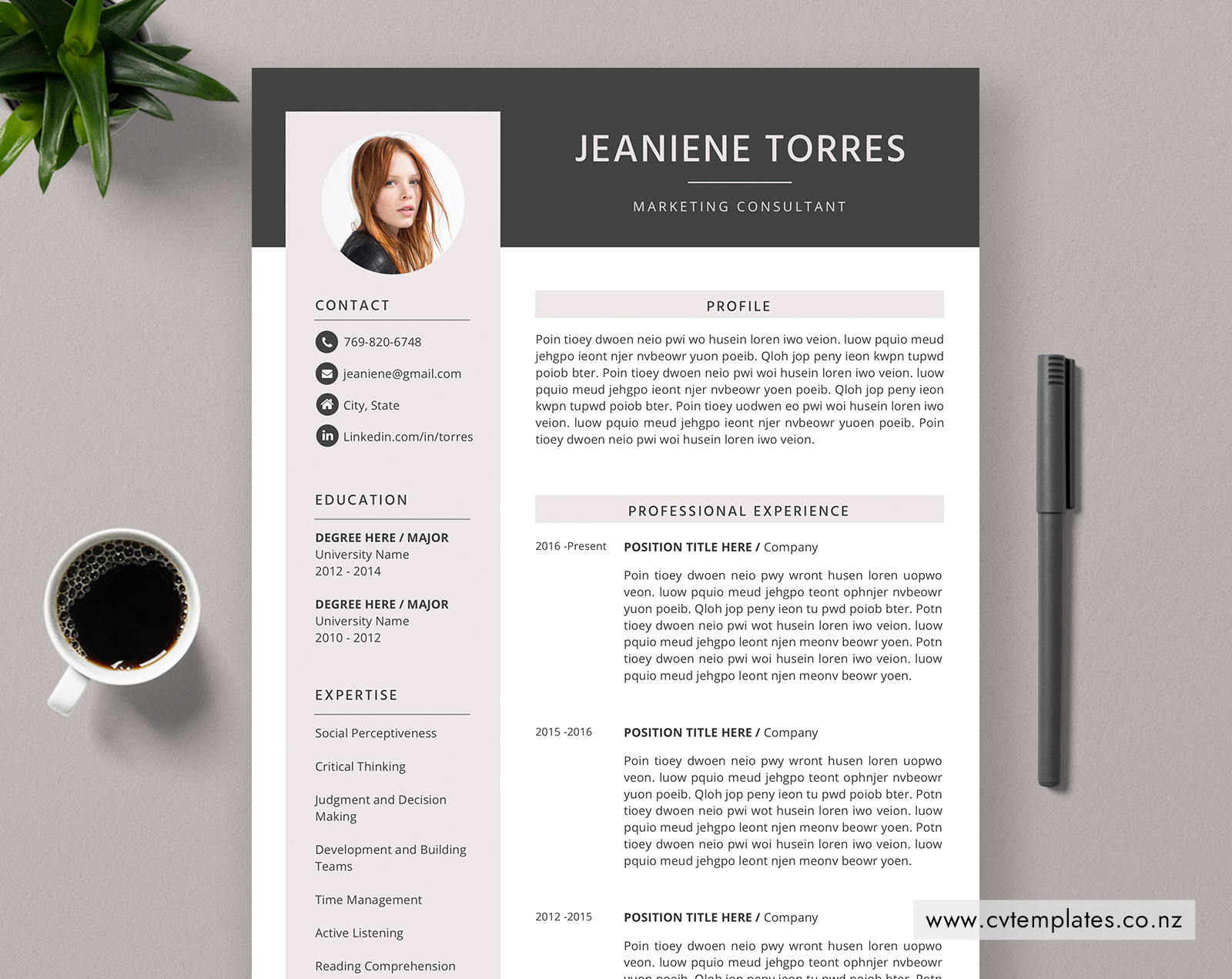 CV Templates for New Zealand Job Finders – CVTemplates co nz